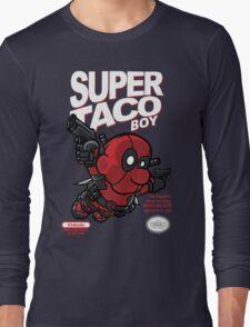 Super Taco Boy Long Sleeve T-Shirt