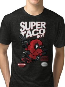 Super Taco Boy Tri-blend T-Shirt