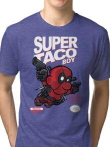 Super Taco Boy Tri-blend T-Shirt