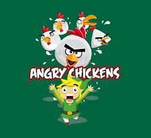 Angry Chickens ! Unisex T-Shirt