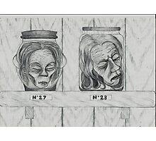 Heads Photographic Print