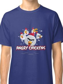 Angry Chickens 2 Classic T-Shirt
