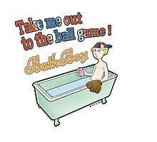 Ball Game - BathBoy Photographic Print