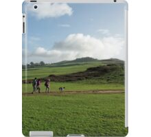 Walkers At Charmouth iPad Case/Skin