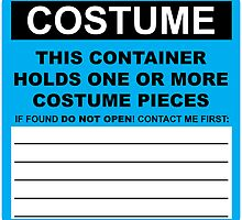 Costume HazMat Sticker by skunkrocker