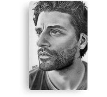 Oscar Isaac Canvas Print