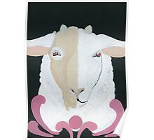 Sheep in Wolf's Skull Poster