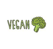Vegan (Broccoli) by ginpix