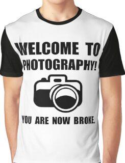 Photography Broke Graphic T-Shirt