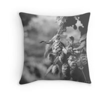 What's Hoppinin'? - Beer Hops Print Throw Pillow