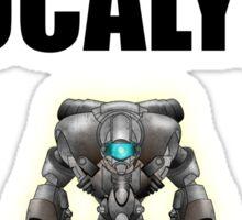 Robot Apocalypse Sticker
