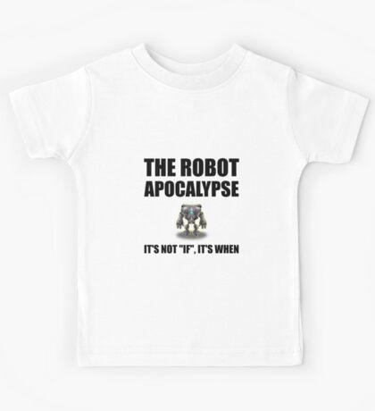 Robot Apocalypse Kids Tee