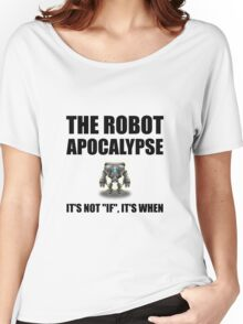 Robot Apocalypse Women's Relaxed Fit T-Shirt