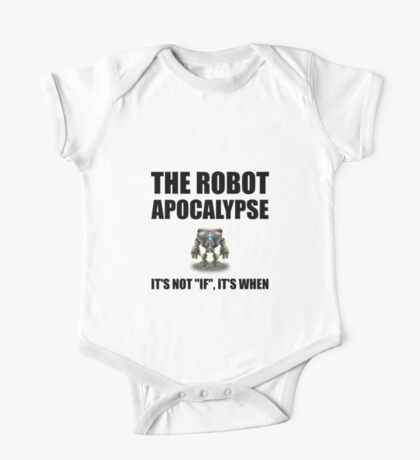 Robot Apocalypse One Piece - Short Sleeve