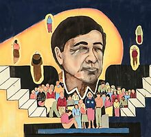 Cesar Chavez at School  by Heather Friedman