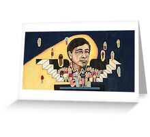 Cesar Chavez at School  Greeting Card