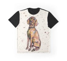Hungarian Vizsla Dog Graphic T-Shirt