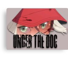 Under The Dog Theme Canvas Print