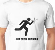 Run With Scissors Unisex T-Shirt