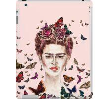 Frida Kahlo Flowers Butterflies iPad Case/Skin