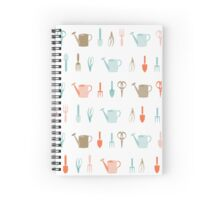 AFE Gardening tools pattern Spiral Notebook