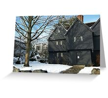 Witch House in the Winter Greeting Card