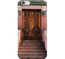 The portal to history iPhone Case/Skin