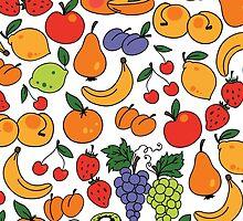 Fruit Pattern by ginpix
