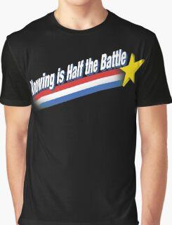Half the Battle Graphic T-Shirt