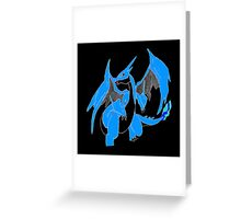 Inverted Charizard Case Greeting Card