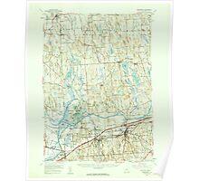 New York NY Weedsport 140109 1954 62500 Poster