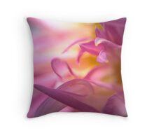 Petals Of Pink Throw Pillow