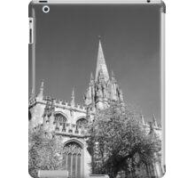 Black and White Oxford  iPad Case/Skin