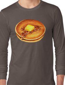 Pancake Pattern Long Sleeve T-Shirt