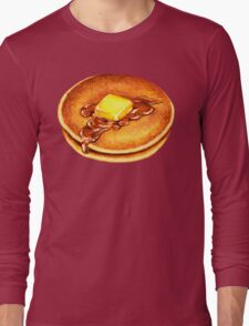 Pancake Pattern Long Sleeve T-Shirt