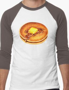 Pancake Pattern Men's Baseball ¾ T-Shirt