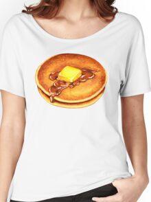 Pancake Pattern Women's Relaxed Fit T-Shirt