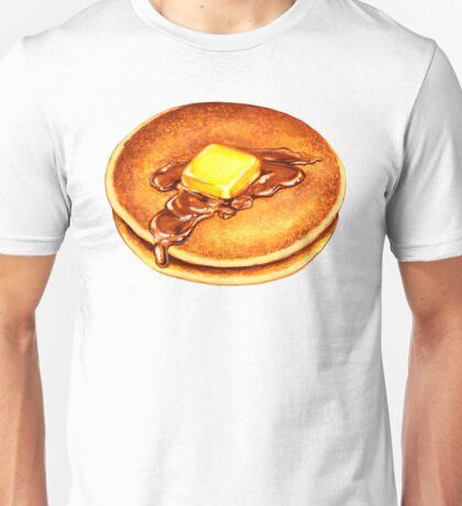 Pancakes Pattern Unisex T-Shirt