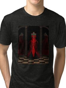 Red Ballgown Reflections Tri-blend T-Shirt