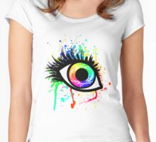 Cyclops Eye Women's Fitted Scoop T-Shirt