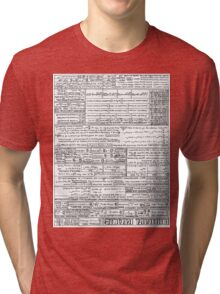 Differential Equations 1.0 Tri-blend T-Shirt