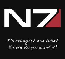 N7 - Renegade Shepard by tnezza