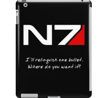N7 - Renegade Shepard iPad Case/Skin