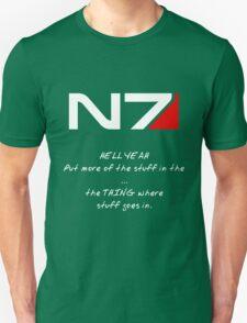 N7 - HELL YEAH Unisex T-Shirt