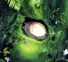 Totoro + Mei Scene --Ghibli Sticker