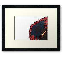 Surprise! Snake! Framed Print