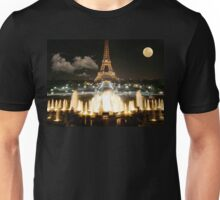 Eiffel Tower at Night Unisex T-Shirt
