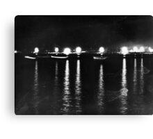 Night In Iskenderun Canvas Print