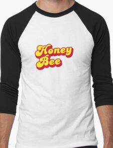 Honey Bee - Beyonce inspired print. Men's Baseball ¾ T-Shirt