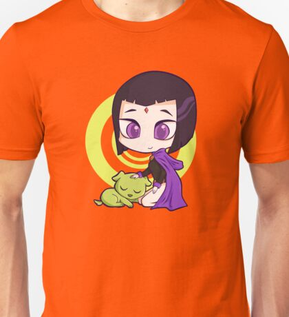 Raven and Beast Boy Unisex T-Shirt